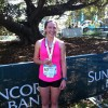Mel's 3rd Overall at the Bridge Run