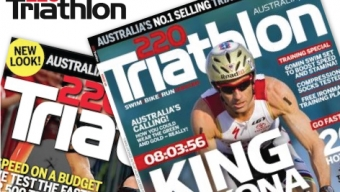 Alex and 220 Triathlon Magazine